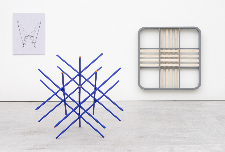 Prototype of the exhibition view (2021). Photo: João Neves.