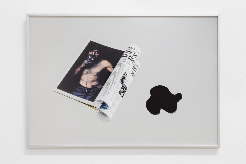 N. G. N. vol. 163 no. 6 June 1983 (2015) Inkjet print 65 x 45 cm. Photo: Bruno Lopes.